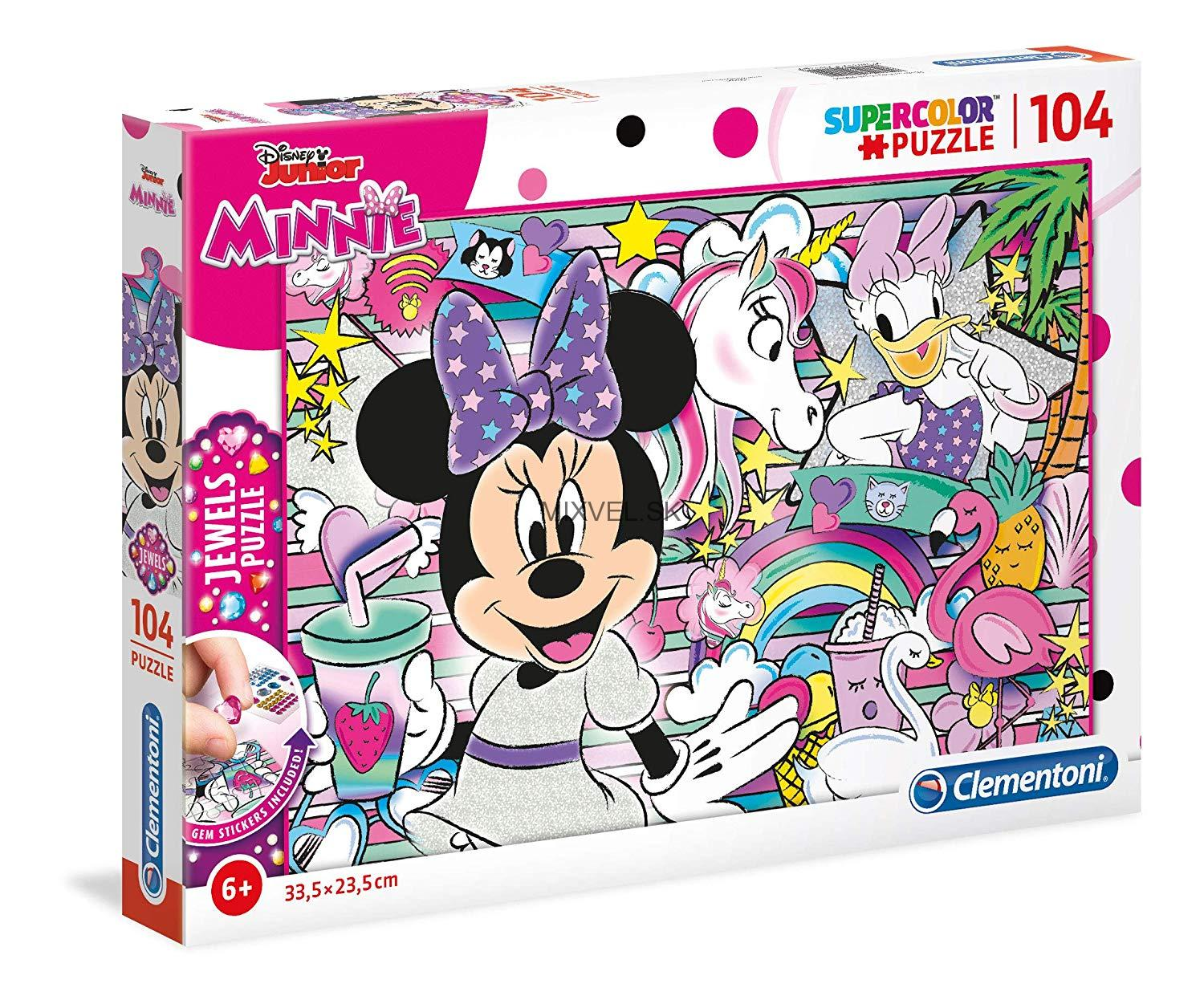 Puzzle Jewels 104 kusov Minnie